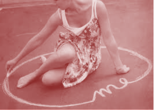 Me in chalk circle