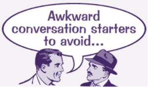 awkward convo