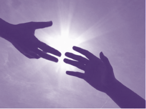 hands releasing